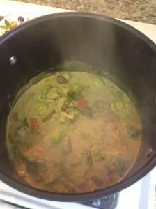 Curry Simmering