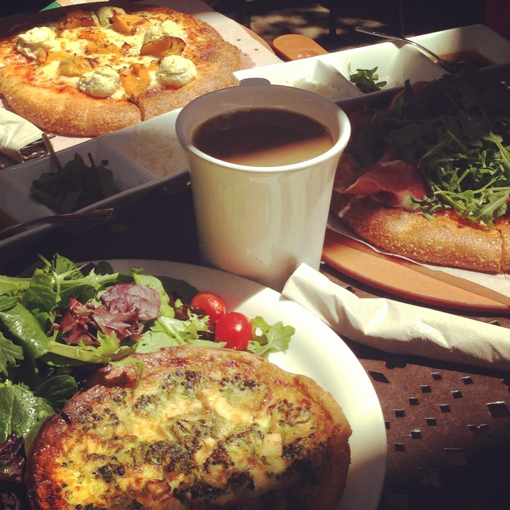 Santa Monica, Urth Caffe, Los Angeles, Brunch