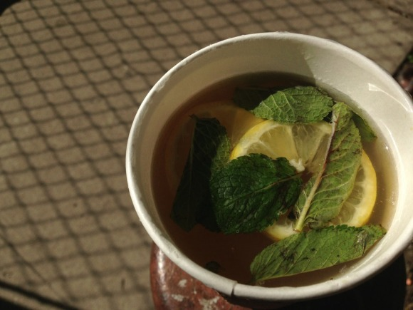 Balthazar's Ginger Citrus Tea