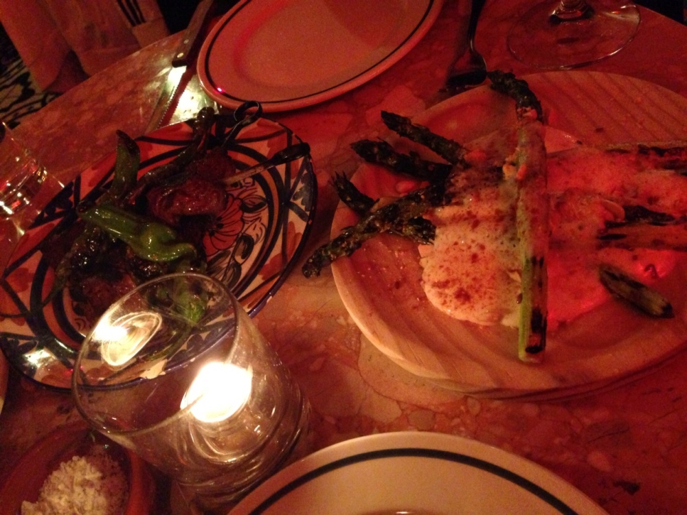Steak & Asparagus