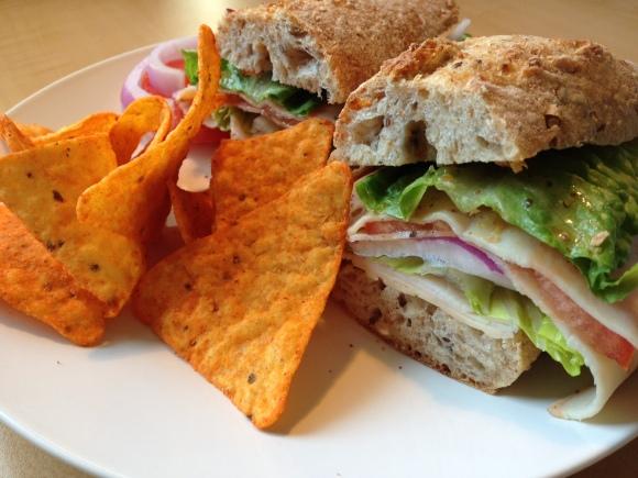 Sandwich & Doritos